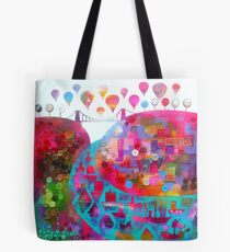 Bristol in buttons Tote Bag