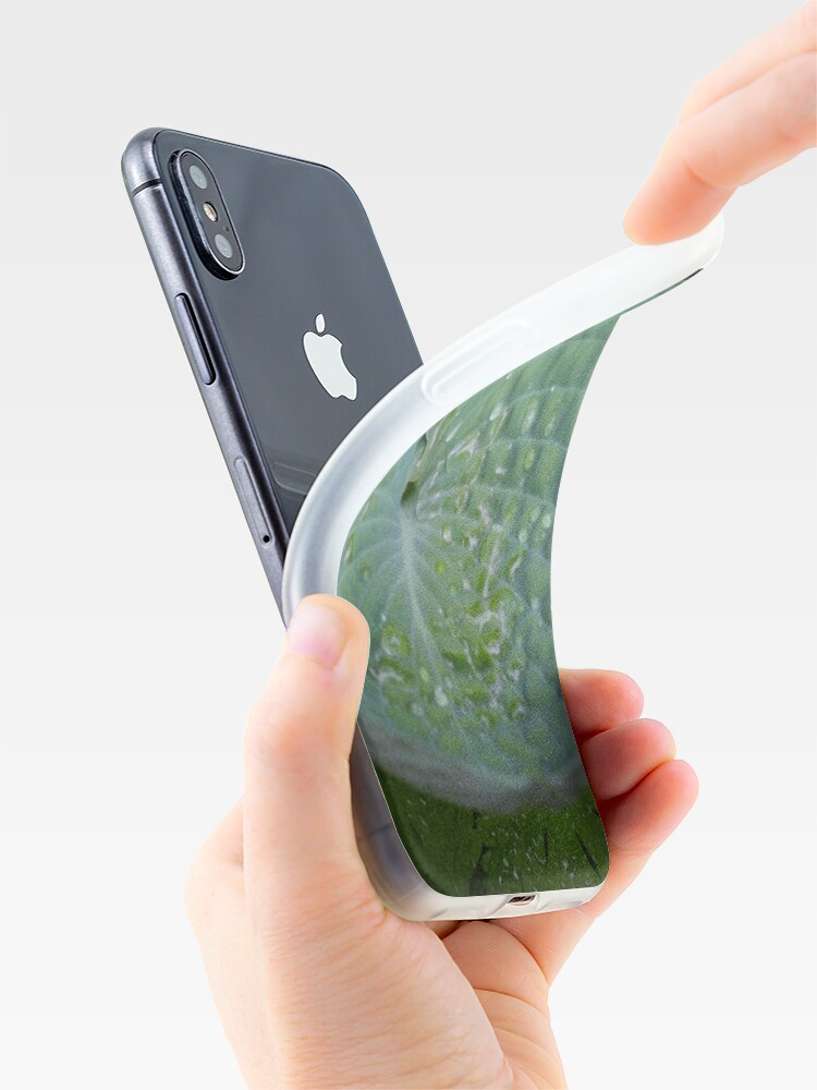 Alternate view of Hosta bowl iPhone Case & Cover