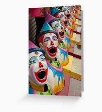 Clowns! Clowns! Clowns! Greeting Card