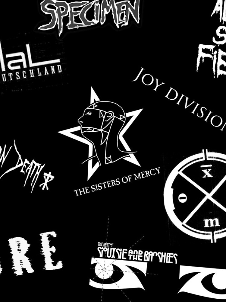 Goth Band Logos von JoanaShino