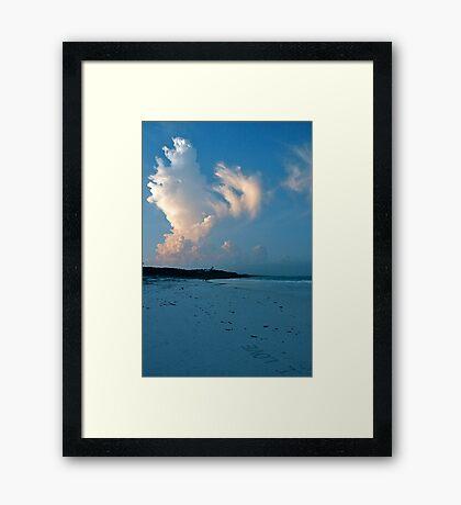I LOVE Framed Print