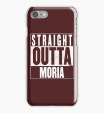 STRAIGHT OUTTA MORIA iPhone Case/Skin
