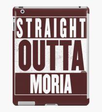 STRAIGHT OUTTA MORIA iPad Case/Skin