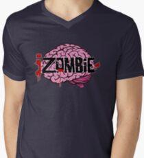 iZombie Brains Men's V-Neck T-Shirt