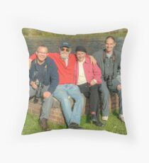 Friends of Red Bubble Throw Pillow