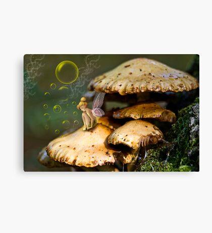 Fairy in the Dell Canvas Print