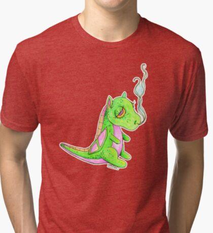 Poof the Sleepy Dragon Tri-blend T-Shirt