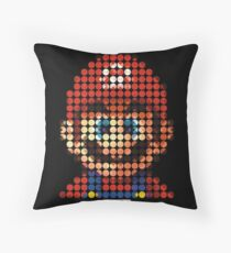 Mario - Pictodotz Throw Pillow