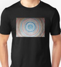 Colourful circular background Unisex T-Shirt