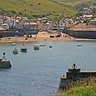 Port Isaac Harbour, June 2019 by RedHillDigital