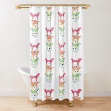 Cute Turnip Pals - Seshadachi Shower Curtain