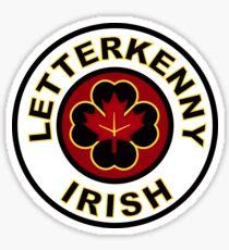 Pegatina letterkenny irlandés
