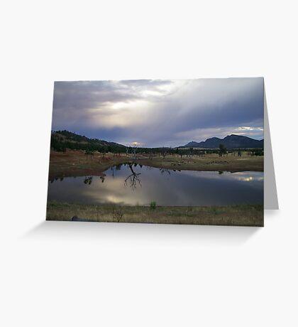 Dam in the Flinders Greeting Card