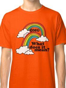 Double Rainbow - OMG Classic T-Shirt