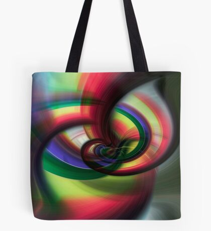 Going Round and Round Tote Bag