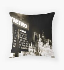 Metro Throw Pillow