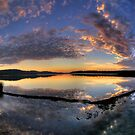 In A Reflective Mood - Narrabeen Lakes, Sydney - The HDR Experience by Philip Johnson