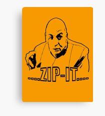 Austin Powers Dr. Evil Zip It T shirt Canvas Print