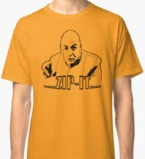 Austin Powers Dr. Evil Zip It T shirt Classic T-Shirt