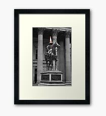 horse play Framed Print