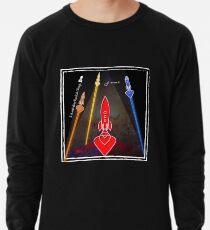 Interstellar Rocket Ships inc. Badge - Blast-off Lightweight Sweatshirt