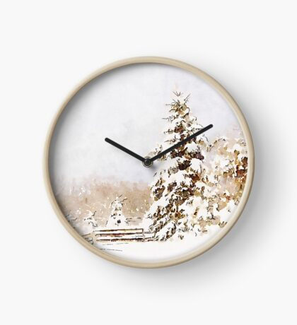 A Winter Sentinal Clock