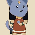 Tiny Bastet by Aakheperure
