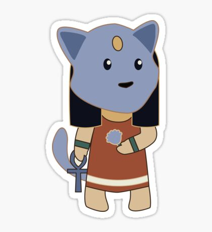 Tiny Bastet Sticker