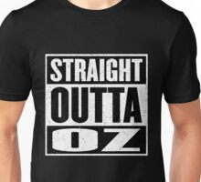 Straight Outta Oz - Dorothy & Toto in the Hood - Movie Mashup - Not in Kansas Anymore Unisex T-Shirt