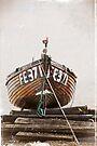 Boat in Deal, Kent, UK by David Carton