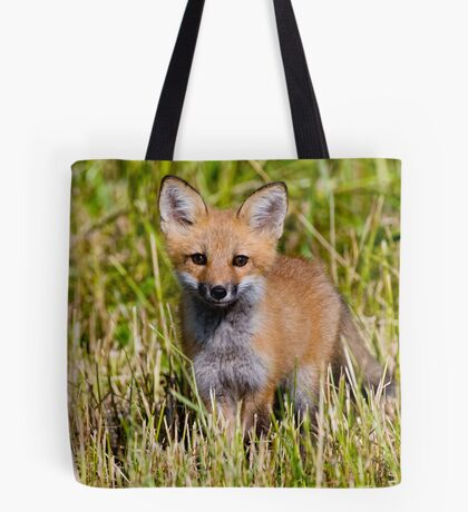 Fox Kit 2 Tote Bag