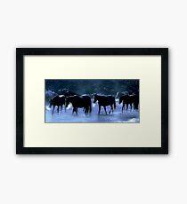 Cold Creek Crossing Nevada  Framed Print