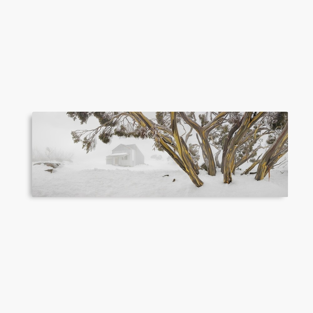 Blowhard Hut, Mt Hotham, Victoria, Australia Canvas Print
