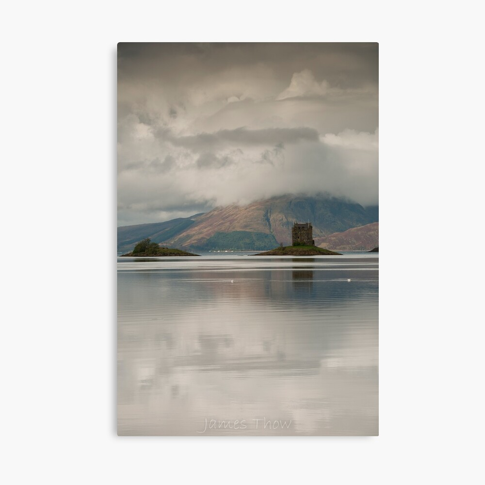 Castle Stalker Canvas Print