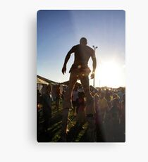 Stilts Metal Print
