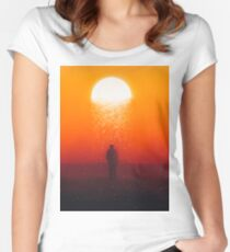 Moonfall Fitted Scoop T-Shirt