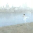 Ballerina on the Thames by stevemitchell