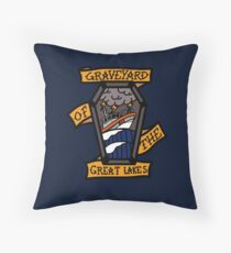 Graveyard of the Great Lakes - 45 RB-M Throw Pillow