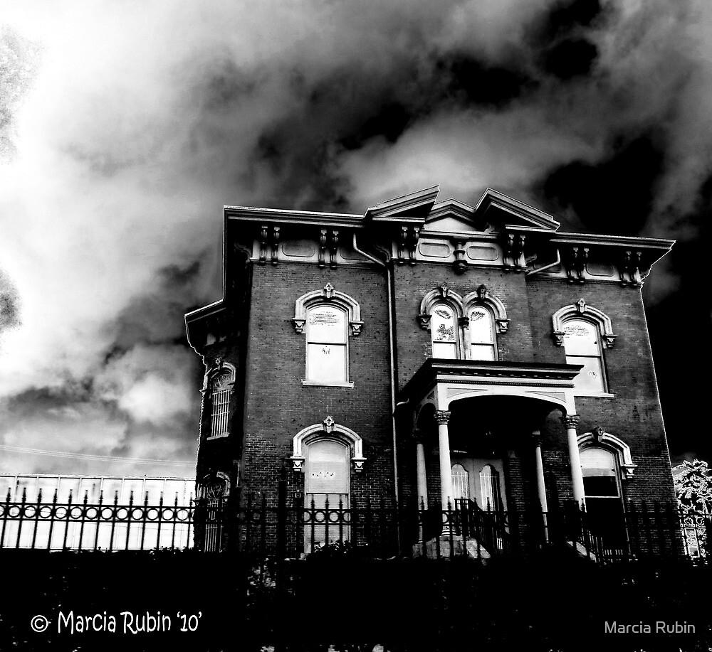 Creepy Abandoned House by Marcia Rubin