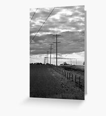 Stormy Skies Greeting Card