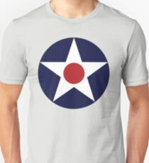 1941 US Air Corps Star Unisex T-Shirt