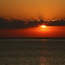 Front Seat to a Lake Ontario Sunset by fototakerTony