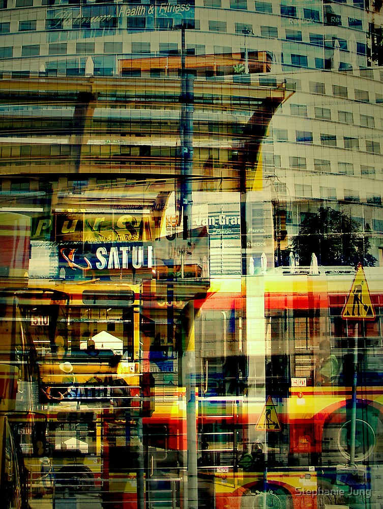 Warsaw Bus Station by Stephanie Jung