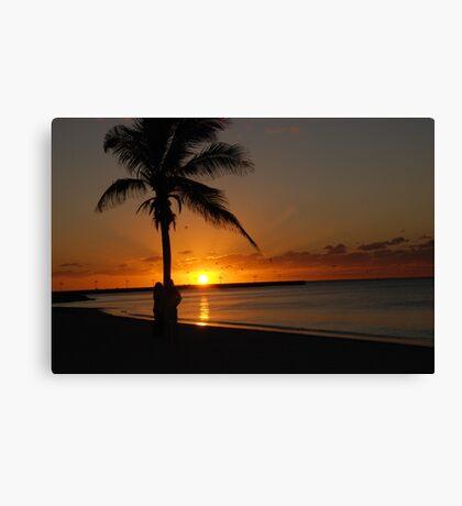 Sunrise in Key West Florida Canvas Print