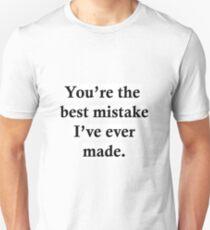Best Mistake Unisex T-Shirt