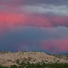 Sunset over the Sangre de Cristos by Mitchell Tillison