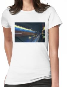 Budapest by Night, Hungary Womens Fitted T-Shirt