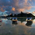 Cloudy Cove by David Haworth