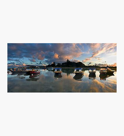 Cloudy Cove Photographic Print
