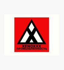Xenoxxx Industries Art Print